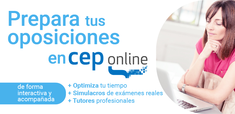 CEP Online. Prepara tus oposiciones online con Editorial CEP